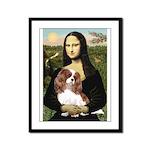Mona's Cavalier Framed Panel Print