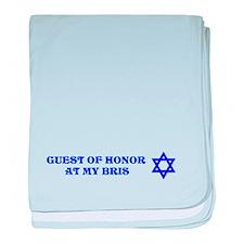 Jewishbaby Blue Bris Baby Blanket