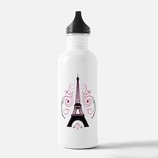 Eiffel Tower Gradient Water Bottle