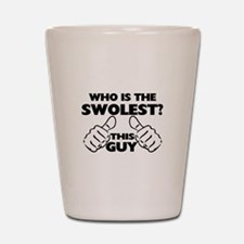 This Guy Is The Swolest Shot Glass
