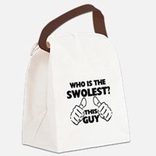 This Guy Is The Swolest Canvas Lunch Bag