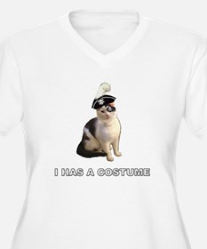 Has a costume T-Shirt