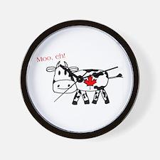 Moo Eh Wall Clock