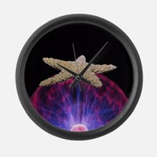 Energized by the Beach Large Wall Clock