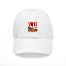 Vote Bacon Baseball Baseball Cap