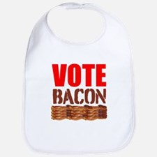 Vote Bacon Bib