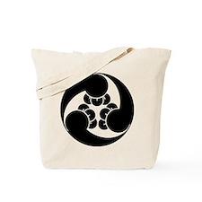 Three clockwise clove swirls Tote Bag