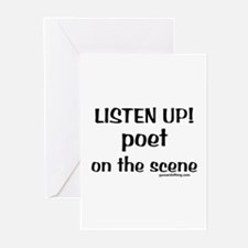 Listen Up! Poetry Greeting Cards (Pk of 10)
