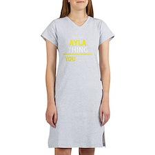 Funny Ayla Women's Nightshirt