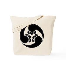 Three counterclockwise clove swirls Tote Bag