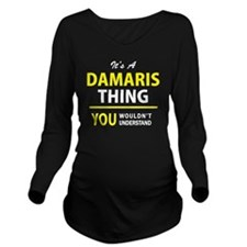 Unique Damaris Long Sleeve Maternity T-Shirt