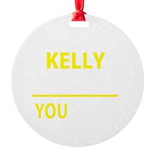 Cute Kellie Ornament