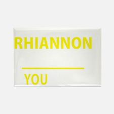 Funny Rhiannon Rectangle Magnet