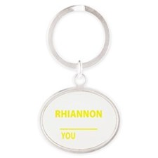 Cute Rhiannon Oval Keychain