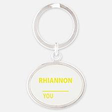 Unique Rhiannon Oval Keychain
