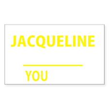 Jacqueline Decal