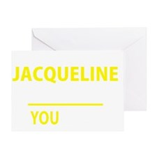 Jacqueline Greeting Card