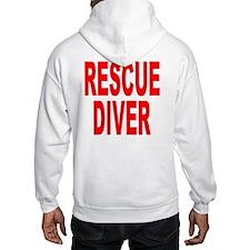 Rescue Diver Red Jumper Hoodie