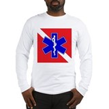 Rescue diver Long Sleeve T-shirts