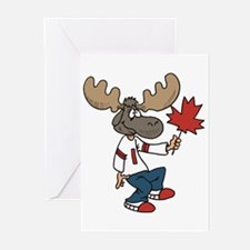 Canada Moose Greeting Cards (Pk of 10)