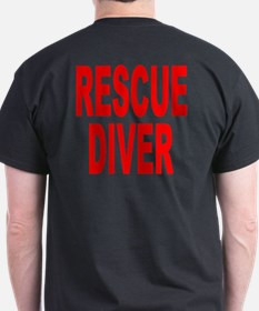 Rescue Diver Red T-Shirt