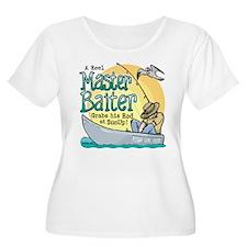 Master Baiter Plus Size T-Shirt