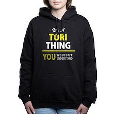 Cute Tori Women's Hooded Sweatshirt