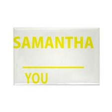 Unique Samantha Rectangle Magnet