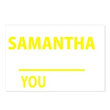 Cute Samantha Postcards (Package of 8)