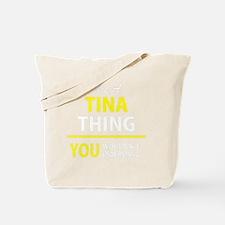 Cute Tina Tote Bag