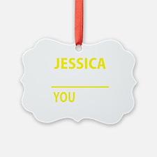 Cute Jessica Ornament