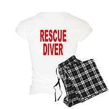Rescue Diver Red Pajamas