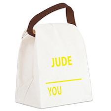 Unique Jude Canvas Lunch Bag