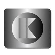 Polished Steel (K) Mousepad
