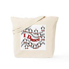 Penguin Dance Tote Bag