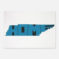 Tennessee Home 5'x7'Area Rug
