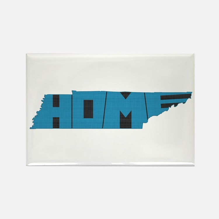 Tennessee Home Rectangle Magnet