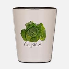 Lettuce Rejoice Shot Glass