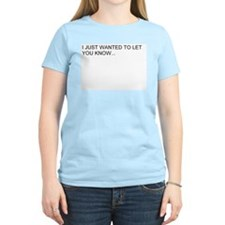 Women's Pink info T-Shirt