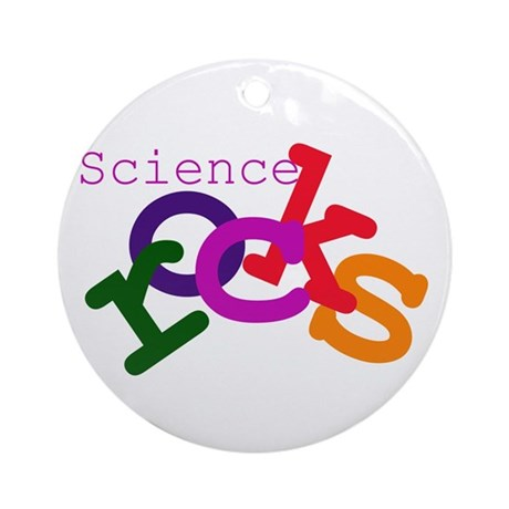 Science Rocks Ornament (Round)
