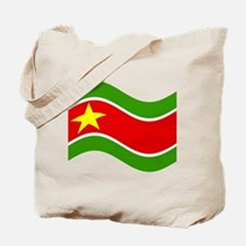 Waving Guadelupe Flag Tote Bag