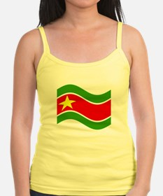 Waving Guadelupe Flag Tank Top