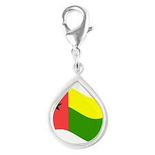 Waving Guinea-Bissau Flag Charms