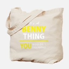 Funny Benny Tote Bag