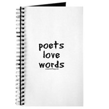 Poets Love Words Journal