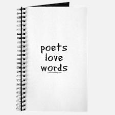 Poets Love Words Journal