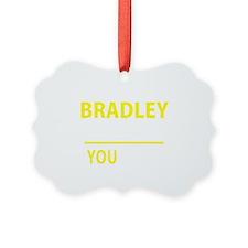 Cute Bradley Ornament