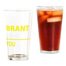 Unique Brant Drinking Glass