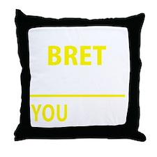 Cute Bret Throw Pillow