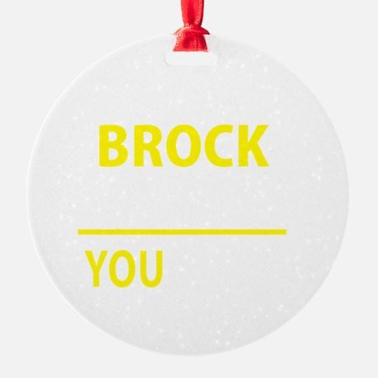 Cute Brock Ornament